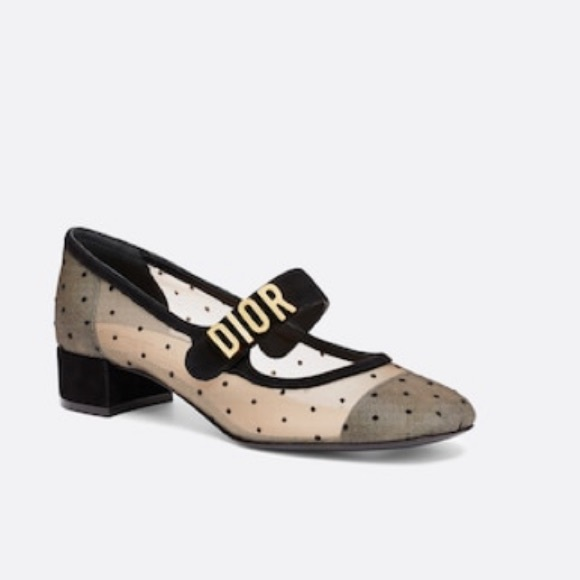 Christian Dior Baby D Mary Jane Ballet